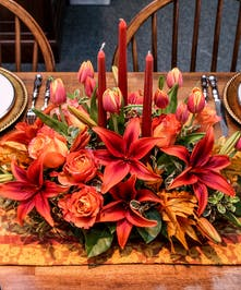 Autumn Gathering Centerpiece