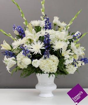 Blue Skies :: Sympathy Flowers Houston Texas