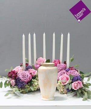 Peaceful Urn Arrangement : Sympathy Flowers Houston Texas