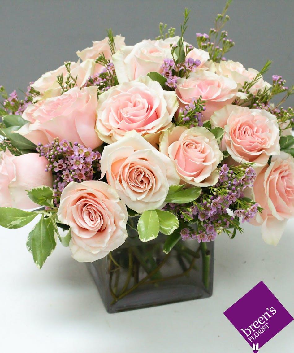 Pink Rose Garden Breens Florist Voted Best Florist Houston Tx