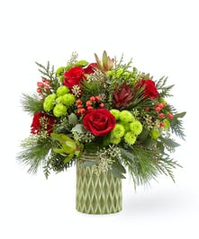 FTD Stunning Style 18-C8 Holiday Flowers Houston