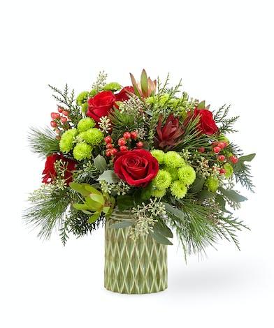 FTD Stunning Style 18-C8 Holiday Flowers Houston