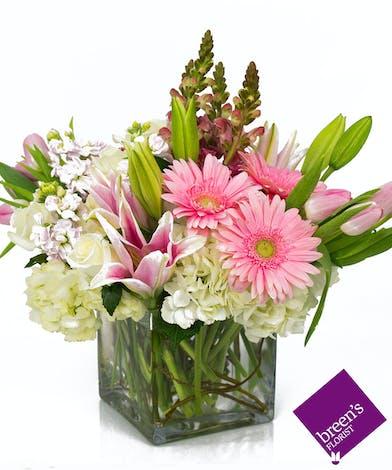 Super Pink Flowers Spring Texas Flowers