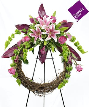 Blooming Grapevine Wreath