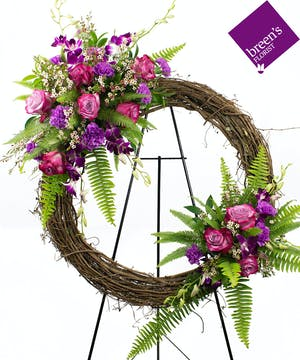 Nature's Blessing Grapevine Wreath