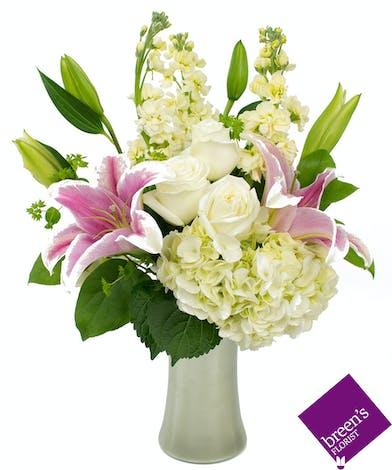 Pearls Please (June Birthstone) Houston Texas Flowers
