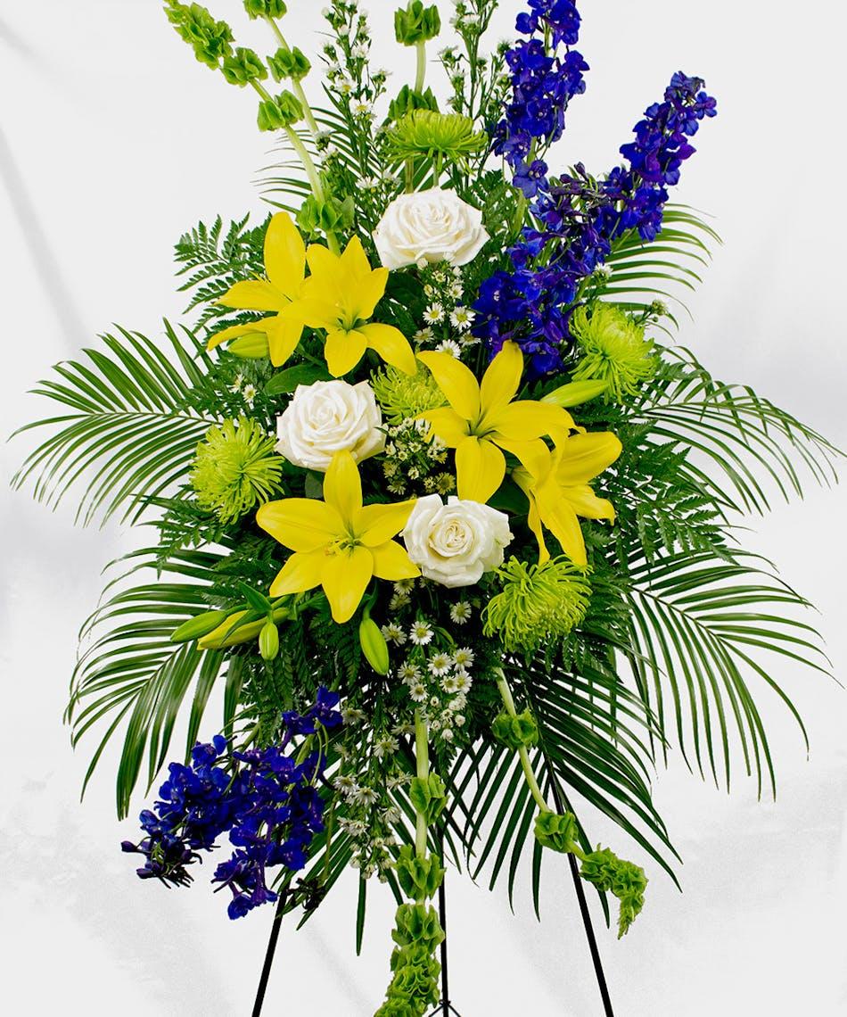 Rest In Peace Spray Breens Florist Voted Best Florist Houston