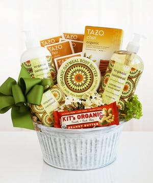 California Delicious Organic Oatmeal Spa