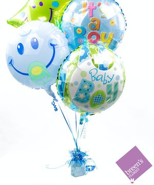 Baby Boy Balloon Bouquet | Balloons In Houston Texas