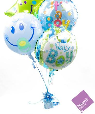 Baby Boy Balloon Bouquet | Balloons In Houston Texas