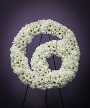 Double Sentiment Wreath