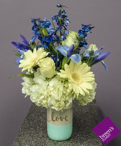 Sweet Love (Blue) :: Breen's Flowers Shop Houston