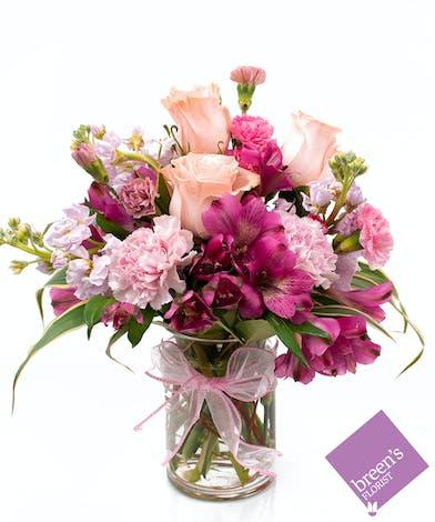 Fun With Pinks :: Breen's Florist Houston Texas