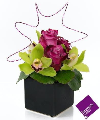 Twilight Orchid Noir : Signature Flowers Houston TX