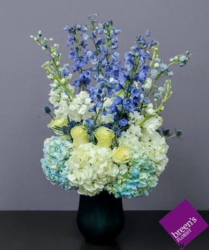 Dior Blue :: Upscale flowers from Breen's Florist Houston