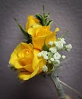 Simply Yellow Boutonniere