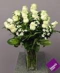 White Roses - 1 1/2 Dozen