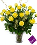 Yellow Roses - 1 1/2 Dozen