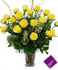Yellow Roses - 1 1/2 Dozen : Breen's Best Florist Houston