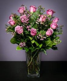 Lavender Roses - 1 Dozen