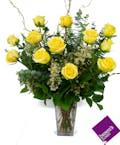 Yellow Roses - 1 Dozen