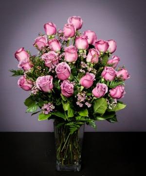Lavender Roses - 2 Dozen
