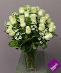White Roses - 2 Dozen