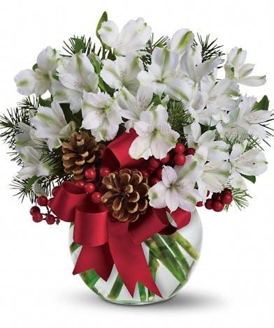 Breen's Florist Houston Teleflora's Let It Snow