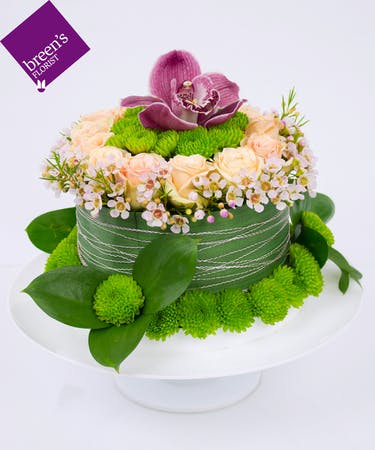 Admirable Floral Birthday Cake Houston Birthday Flower Delivery Personalised Birthday Cards Paralily Jamesorg