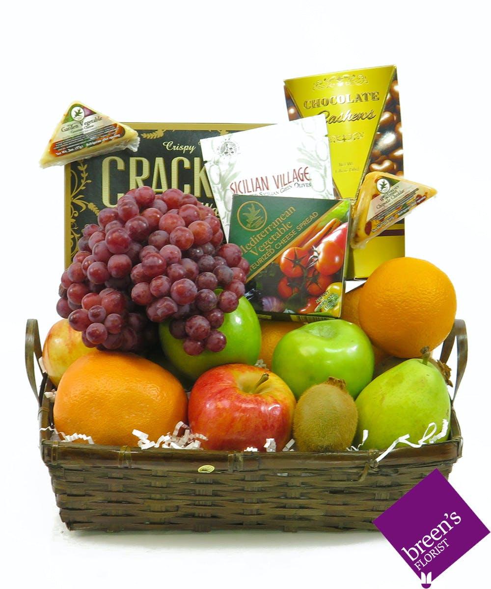 Fruit and Gourmet Basket  sc 1 st  Breenu0027s Florist & Houston TX Fruit u0026 Gourmet Gift Baskets | Breenu0027s Florist