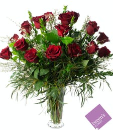 Red Roses - 18 (1 1/2 Dozen)